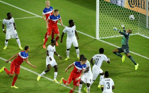 Ghana vs USA, World Cup 2014